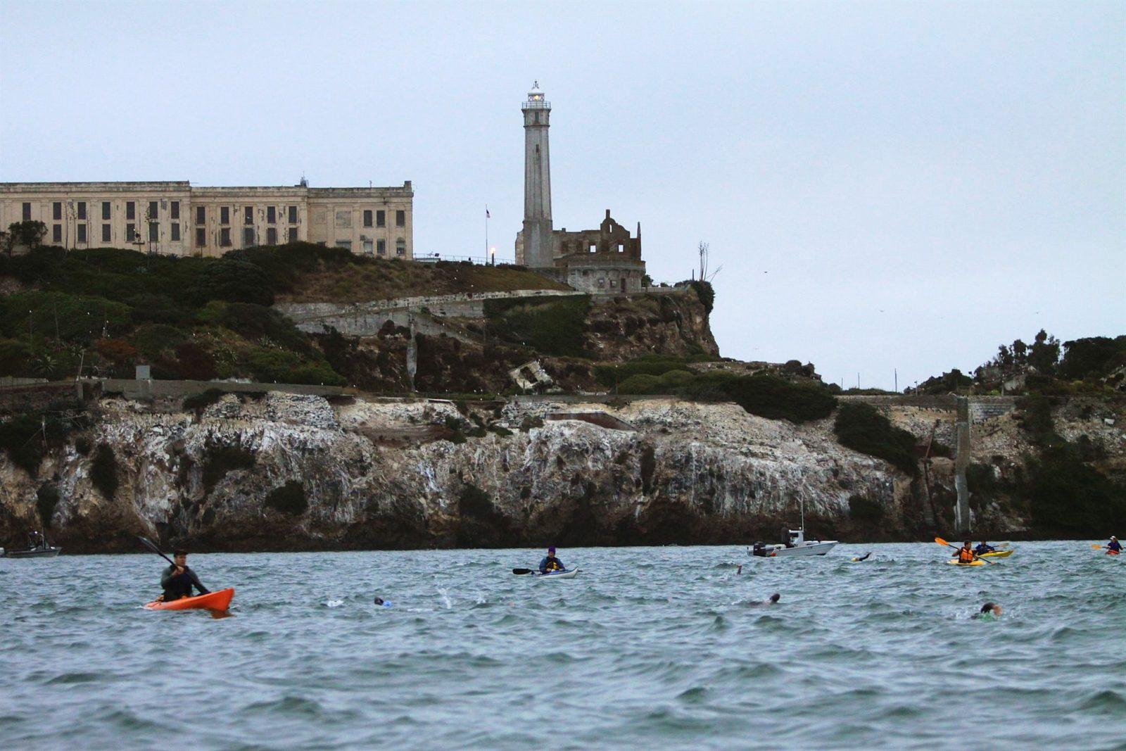 6 triatlones que no te puedes perder - Alcatraz